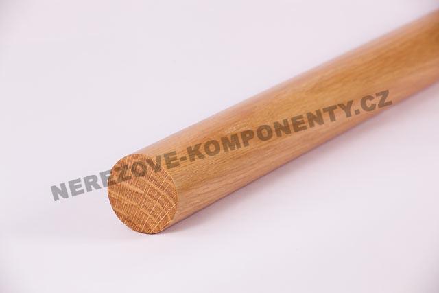 Holzhandlauf Eiche rund 45 mm - 1 m