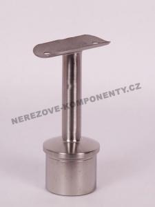 Handlaufhalter - Pfosten 42,4 mm (standfest - runder Handlauf)