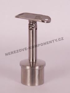 Handlaufhalter- Pfosten 42,4 mm verstellbar