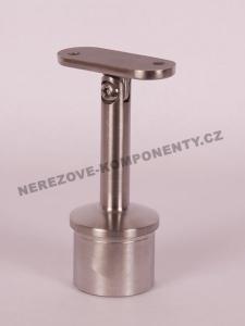Handlaufhalter- Pfosten 42,4 mm (verstellbar HM)