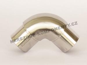 Verbinder des rostfreien Handlaufs 42,4 mm - 90 Grad (Ellbogen)