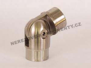 Verbinder des rostfreien Handlaufs 42,4 mm - verstellbar