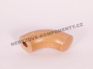 Endstück des Holzhandlaufs 45 mm Antritts - Buche