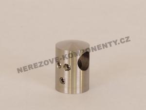 Edelstahl-Stabhalter 12 mm - Verbinder durchlaufend HS
