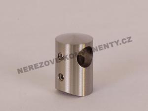 Edelstahl-Stabhalter 12 mm - seitlich-rechts
