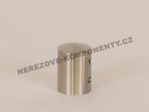 Edelstahl-Stabhalter 12 mm - seitlich-rechts HS