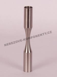 Verbinder des Edelstahlstabes 12 mm - biegsam