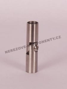 Verbinder des Edelstahlstabes 12 mm - Gelenk