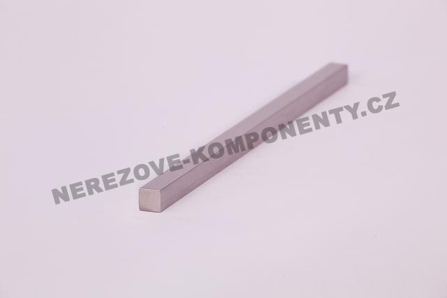 Edelstahlstab 10x10 mm - 1 m