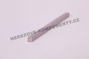 Edelstahlstab 10x10 mm - 3 m